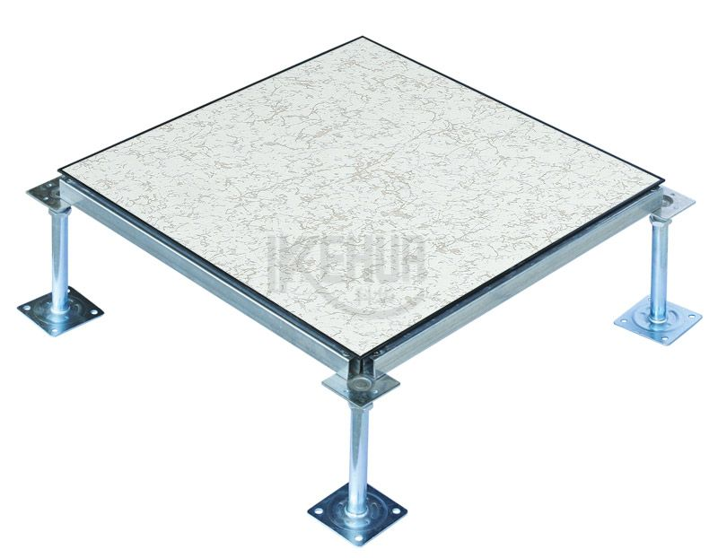 Anti-static steel raised access floor with edge  (HDG)
