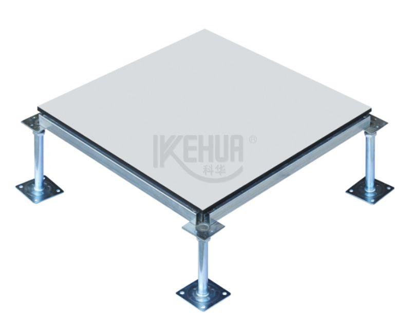 Anti-static steel raised access floor panel with ceramic tile (HDGc)
