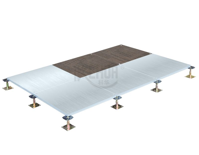 Encapsulated Calcium sulphate raised access floor
