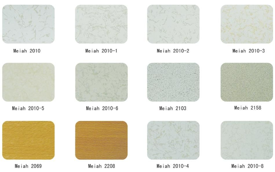 Permanent anti-static PVC flooring
